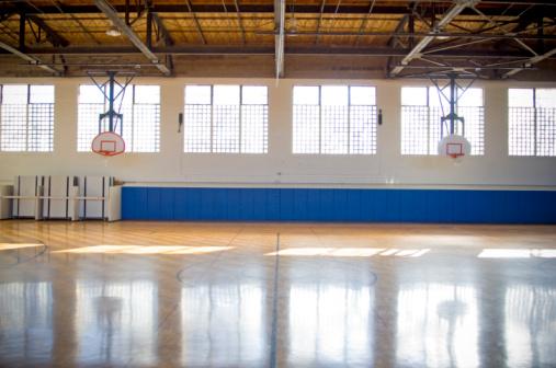 Reflector「Empty basketball court」:スマホ壁紙(19)