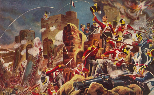 Recreational Pursuit「The Connaught Rangers The Capture Of The Citadel At Badajoz」:写真・画像(13)[壁紙.com]