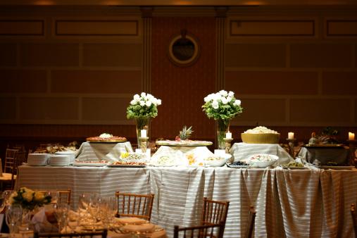 Buffet「Antipasto variety on the buffet table」:スマホ壁紙(12)