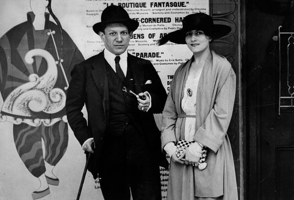 1910-1919「Pablo Picasso And Olga Khokhlova」:写真・画像(18)[壁紙.com]