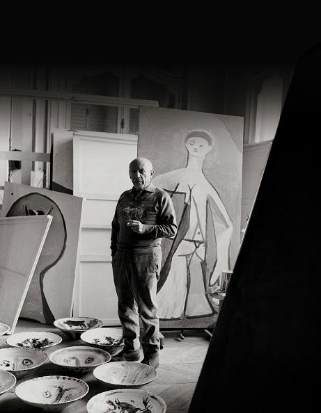 Pablo Picasso「Pablo Picasso in his villa」:写真・画像(15)[壁紙.com]