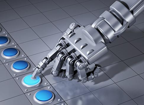 Choosing「Hand of a robot」:スマホ壁紙(12)