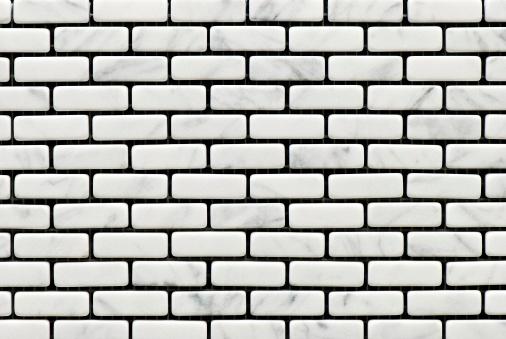 Brick Wall「Tiles textures: white stone」:スマホ壁紙(9)