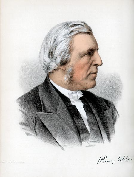 ユニオンチャペル「Henry Allon, English Nonconformist divine, c1890.Artist: Cassell, Petter & Galpin」:写真・画像(13)[壁紙.com]