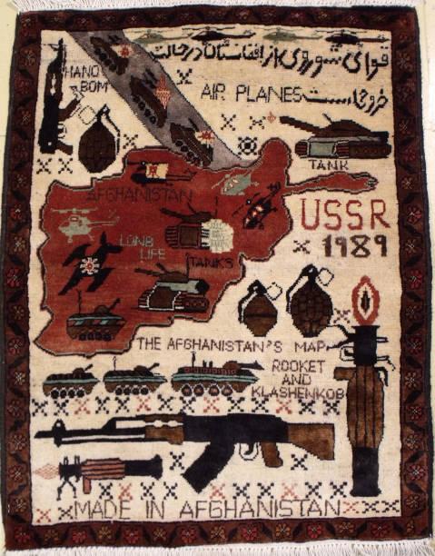 Afghan War Rug:ニュース(壁紙.com)