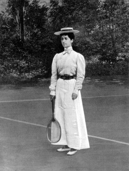 20th Century「Helene Provost won the silver medal of tennis women's singles at the Paris Olympic Games in 1900」:写真・画像(2)[壁紙.com]