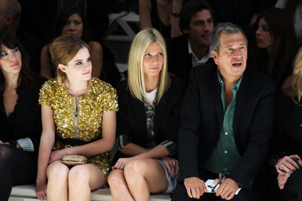 エマ・ワトソン「Burberry Front Row: Spring/Summer 2010 - London Fashion Week」:写真・画像(0)[壁紙.com]