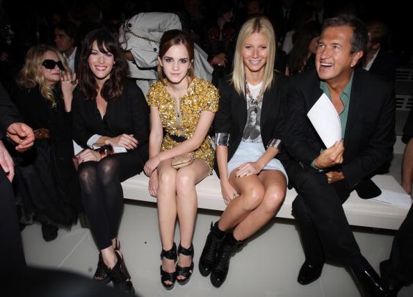 エマ・ワトソン「Burberry Front Row: Spring/Summer 2010 - London Fashion Week」:写真・画像(7)[壁紙.com]