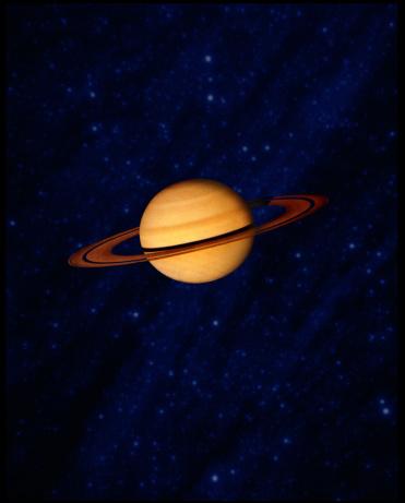 Solar System「Saturn」:スマホ壁紙(7)