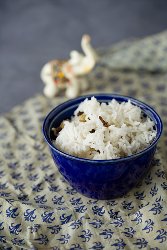 Basmati Rice「Cooked basmati rice spiced with cloves, cardamom and laurel」:スマホ壁紙(13)