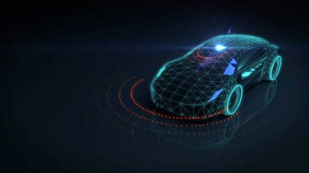 Self drive autonomous vehicle:スマホ壁紙(壁紙.com)