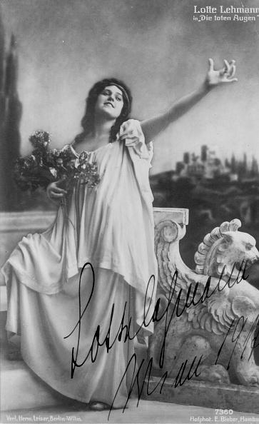 クラシック音楽家「Lotte Lehmann As Myrtocle」:写真・画像(6)[壁紙.com]