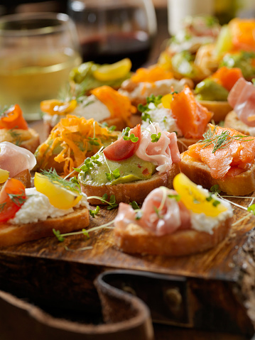 Bean Sprout「Platter of Mixed Canape's」:スマホ壁紙(4)