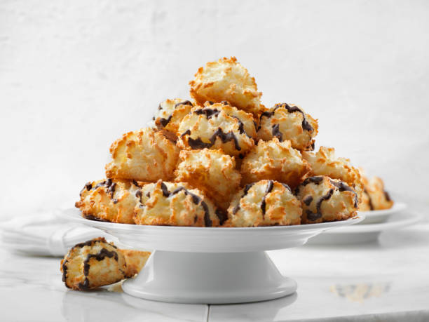 Platter of Coconut Macaroons:スマホ壁紙(壁紙.com)