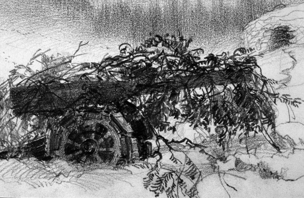 Fototeca Storica Nazionale「The Cannon Camouflaged」:写真・画像(13)[壁紙.com]
