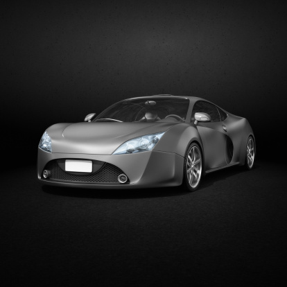 Sports Car「grayscale supercar - head lights in color」:スマホ壁紙(6)
