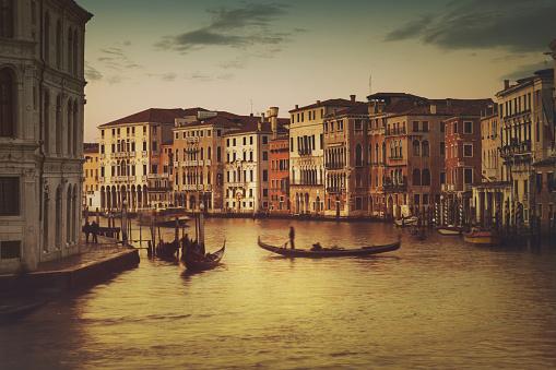 アーカイブ画像「イタリア、ベニスの運河」:スマホ壁紙(2)