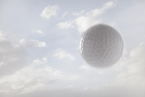 Utah「USA, Utah, Lehi, Golf ball against sky」:スマホ壁紙(6)