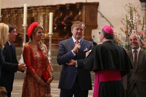 Trier「King Willem-Alexander and Queen Maxima of The Netherlands Visit Germany」:写真・画像(18)[壁紙.com]