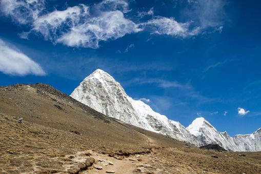 Khumbu「Mount Pumori in Nepal Himalayas」:スマホ壁紙(1)
