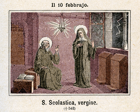 Benedictine「FEBRUARY 10 - ST SCHOLASTICA」:写真・画像(8)[壁紙.com]