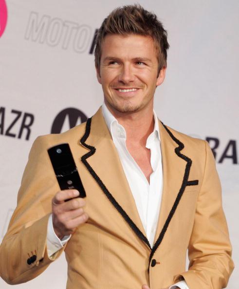 Sport「David Beckham Attends A Mobile Phone Event In Tokyo」:写真・画像(14)[壁紙.com]