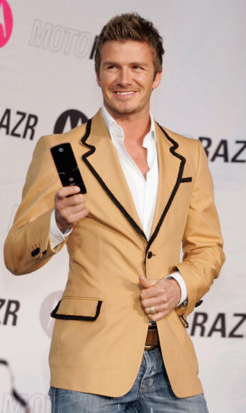 Wireless Technology「David Beckham Attends A Mobile Phone Event In Tokyo」:写真・画像(9)[壁紙.com]