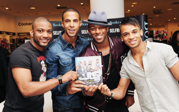 Headwear「JLS Launch Behind The Scenes Book At Selfridges - Photocall」:写真・画像(5)[壁紙.com]