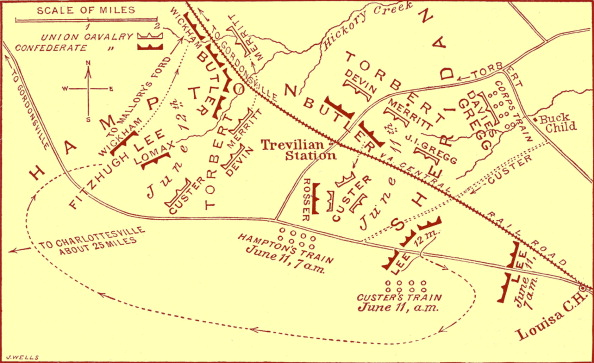 Physical Geography「Battle of Travellian Station map - American Civil War」:写真・画像(15)[壁紙.com]