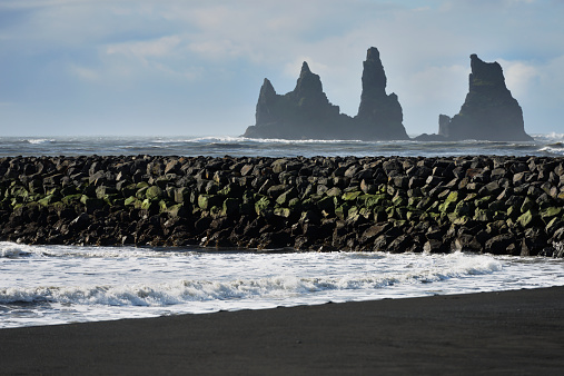 Basalt「Basalt Stacks Of Reynisdrangar」:スマホ壁紙(5)