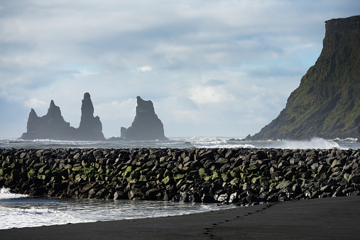 Basalt「Basalt Stacks Of Reynisdrangar」:スマホ壁紙(6)