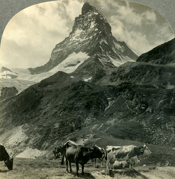 Snowcapped Mountain「The Majestic Pyramid Of The Alps」:写真・画像(19)[壁紙.com]