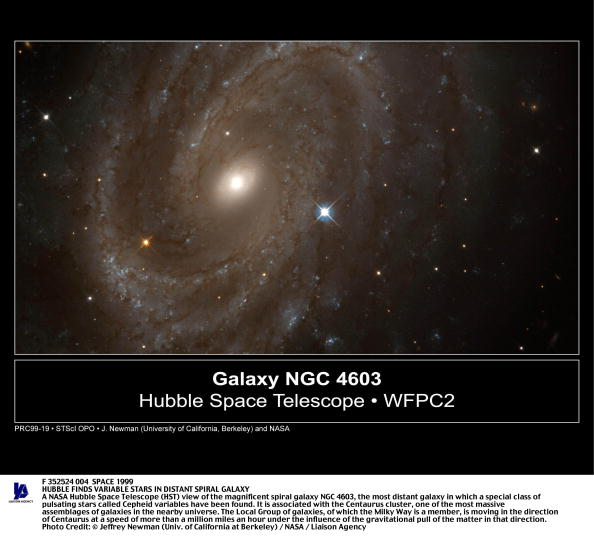 Hubble Space Telescope「Hubble Finds Variable Stars In Distant Spiral Galaxy A Nasa Hubble Space Tel」:写真・画像(0)[壁紙.com]