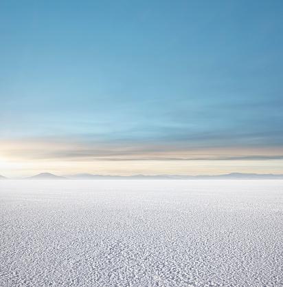 Dramatic Landscape「Empty Salt Flats」:スマホ壁紙(8)