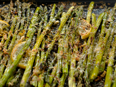 Garlic Clove「Lemon, Garlic and Parmesan Roasted Asparagus」:スマホ壁紙(16)