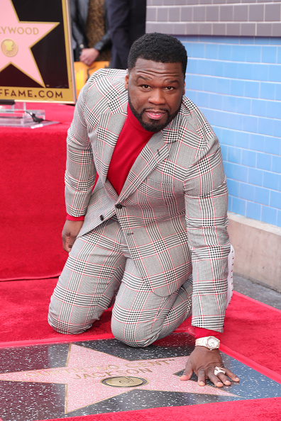 """Hollywood - California「Curtis """"50 Cent"""" Jackson Is Honored With A Star On The Hollywood Walk Of Fame」:写真・画像(15)[壁紙.com]"""