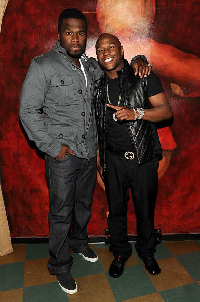 "Floyd Mayweather Jr「Scream 4 New York Screening After Party Hosted By Curtis ""50 Cent"" Jackson & Harvey Weinstein」:写真・画像(7)[壁紙.com]"