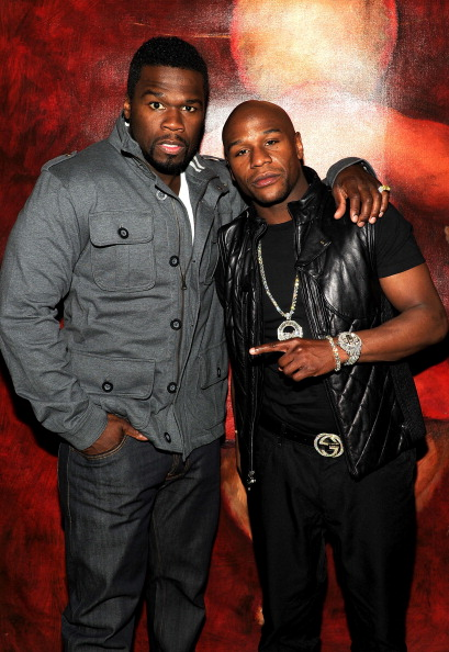 "Floyd Mayweather Jr「Scream 4 New York Screening After Party Hosted By Curtis ""50 Cent"" Jackson & Harvey Weinstein」:写真・画像(4)[壁紙.com]"