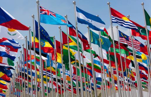 Global Village「National flags」:スマホ壁紙(8)