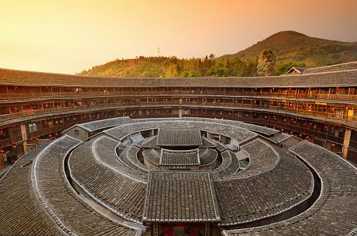 UNESCO「Hakka Tulou traditional Chinese housing, Fujian China」:スマホ壁紙(0)