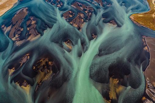 Dramatic Landscape「Glacial flows in northern Iceland」:スマホ壁紙(17)