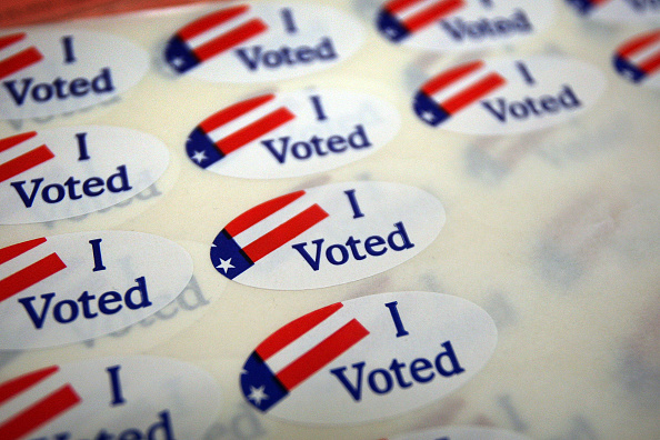 Voting「Californians Vote In Special Election On Budget Ballot Measures」:写真・画像(3)[壁紙.com]