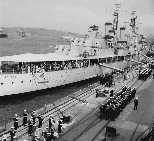 HMS Belfast「HMS Belfast Recommissioned」:写真・画像(4)[壁紙.com]