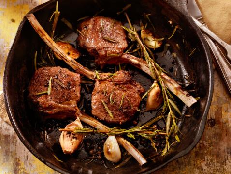 Lamb - Meat「Braised Lamb Chops」:スマホ壁紙(10)
