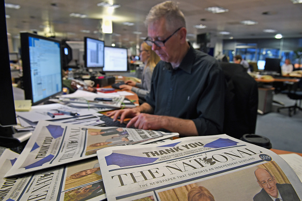 Editor「The National Newspaper Launches In Scotland」:写真・画像(7)[壁紙.com]