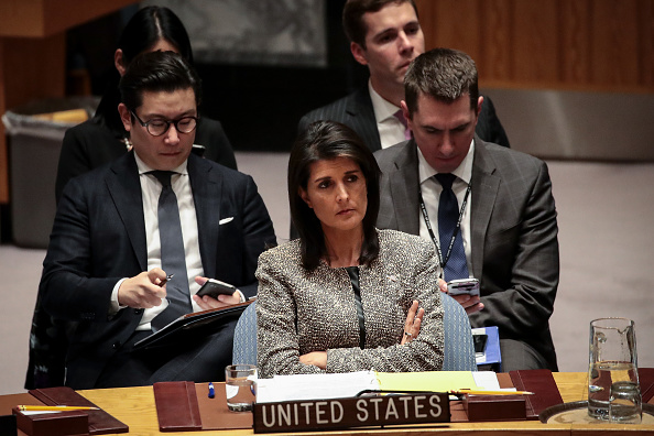 United Nations Building「United Nations Security Council Meets On North Korea」:写真・画像(6)[壁紙.com]