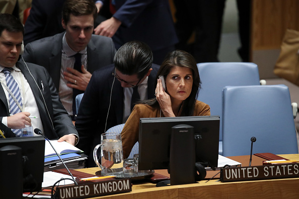 United Nations Building「UN Security Council Holds Emergency Meeting After Syrian Chemical Weapons Attack」:写真・画像(7)[壁紙.com]