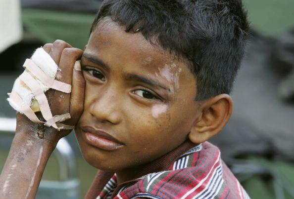 2004 Indian Ocean Earthquake and Tsunami「Tsunami Children Face Uncertain Future In Refugee Camps」:写真・画像(15)[壁紙.com]