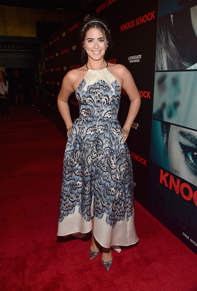 "Silver Shoe「Premiere Of Lionsgate Premiere's ""Knock Knock"" - Red Carpet」:写真・画像(14)[壁紙.com]"