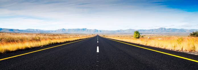 Empty Road「The Open Road」:スマホ壁紙(9)